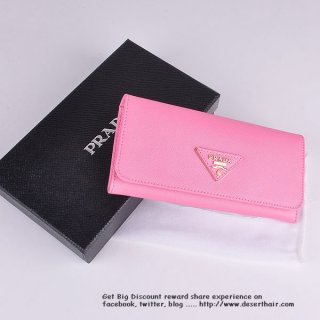Prada IM1132 Cherry Wallet