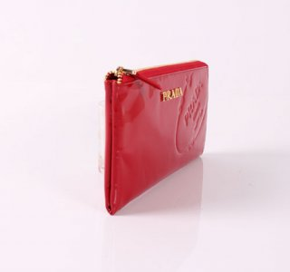 Prada P391A Red Wallet