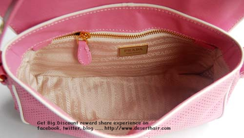 Prada Mini Pink 29151 Bag