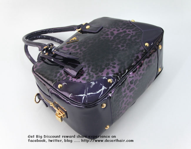 Prada Mini Purple 64417 Bag