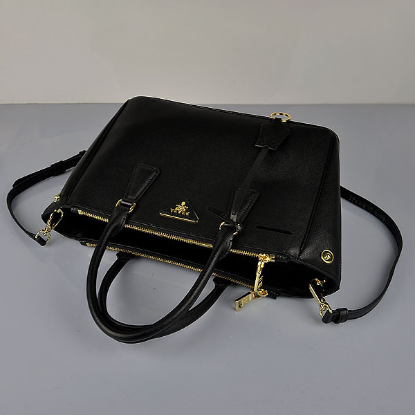 Prada Saffiano Black 1801-1 Bag